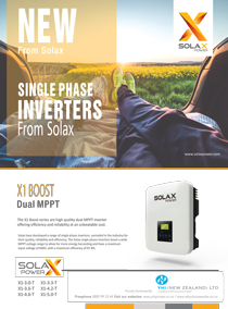 Solax 5kw 3 Phase Inverter