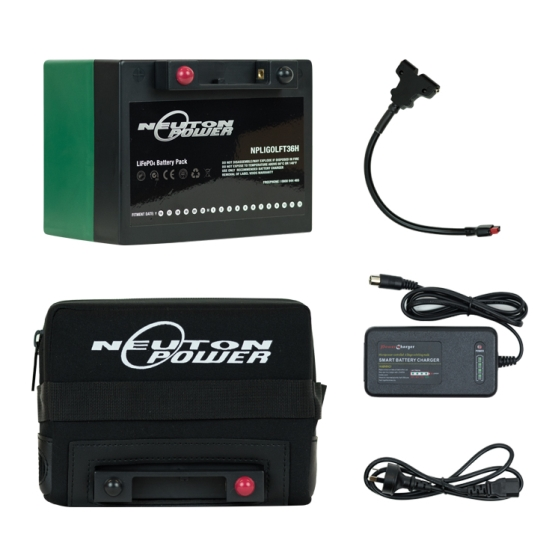 Neuton Power 22Ah Lithium Battery With Smart Charger