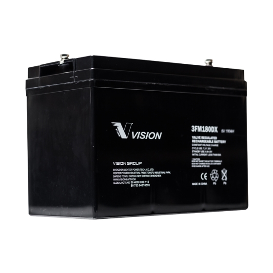 Vision FM Series 6V 180Ah Deep Discharge VRLA Battery