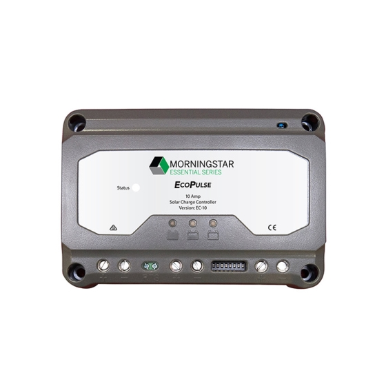 Morningstar EcoPulse 12/24V 10A PWM Charge Controller