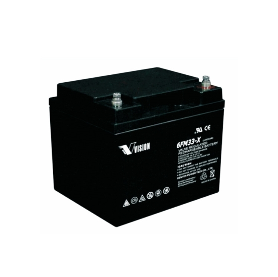 Vision FM Series 12V 33Ah Deep Cycle VRLA Battery