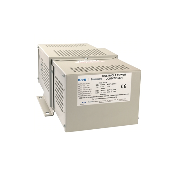 2605-2000M  2KVA  Hard Wired Multi-tap 1PH Power Conditioner