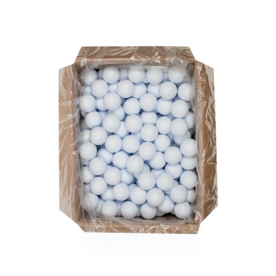25DZ BULK PLAIN WHITE GOLF BALLS