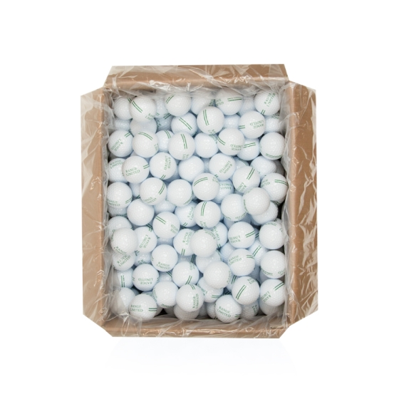 25DZ BULK RANGE WHITE LIMITED FLIGHT GOLF BALLS
