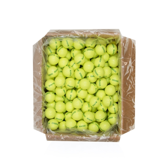 25DZ BULK RANGE YELLOW GOLF BALLS
