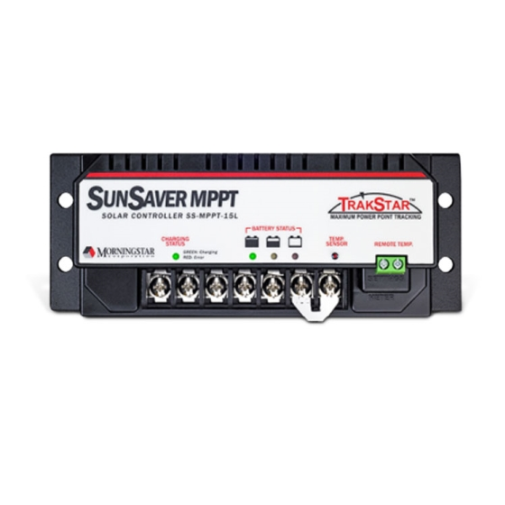 MORNINGSTAR SUNSAVER MPPT 12/24V 15A