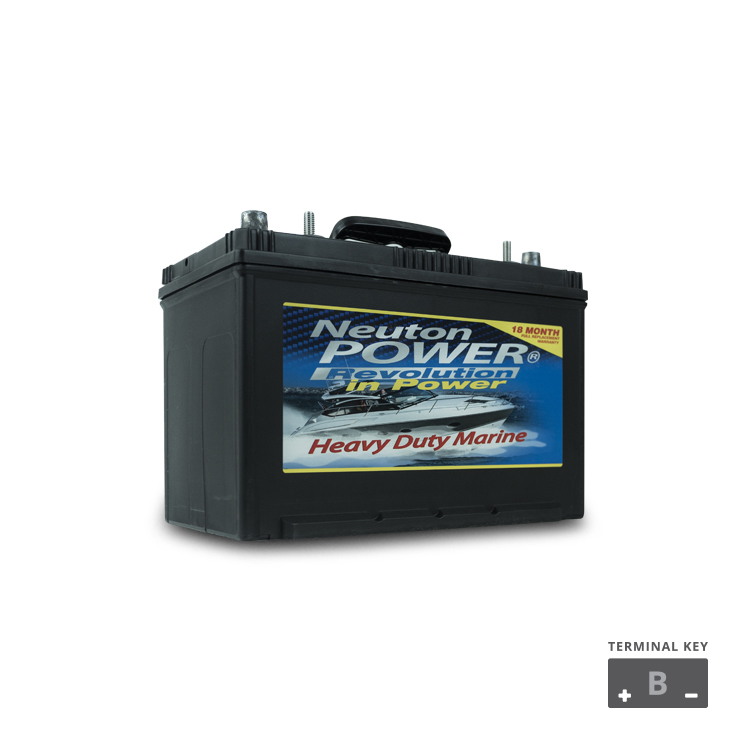 N27 830CCA MARINE STARTING BATTERY (M27)