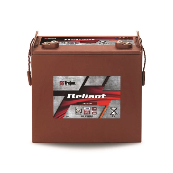 TROJAN J185-AGM RELIANT DEEP CYCLE AGM 12V 200AH BATTERY