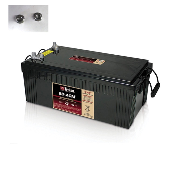 TROJAN 8D-AGM AGM DEEP CYCLE 12V 230AH BATTERY