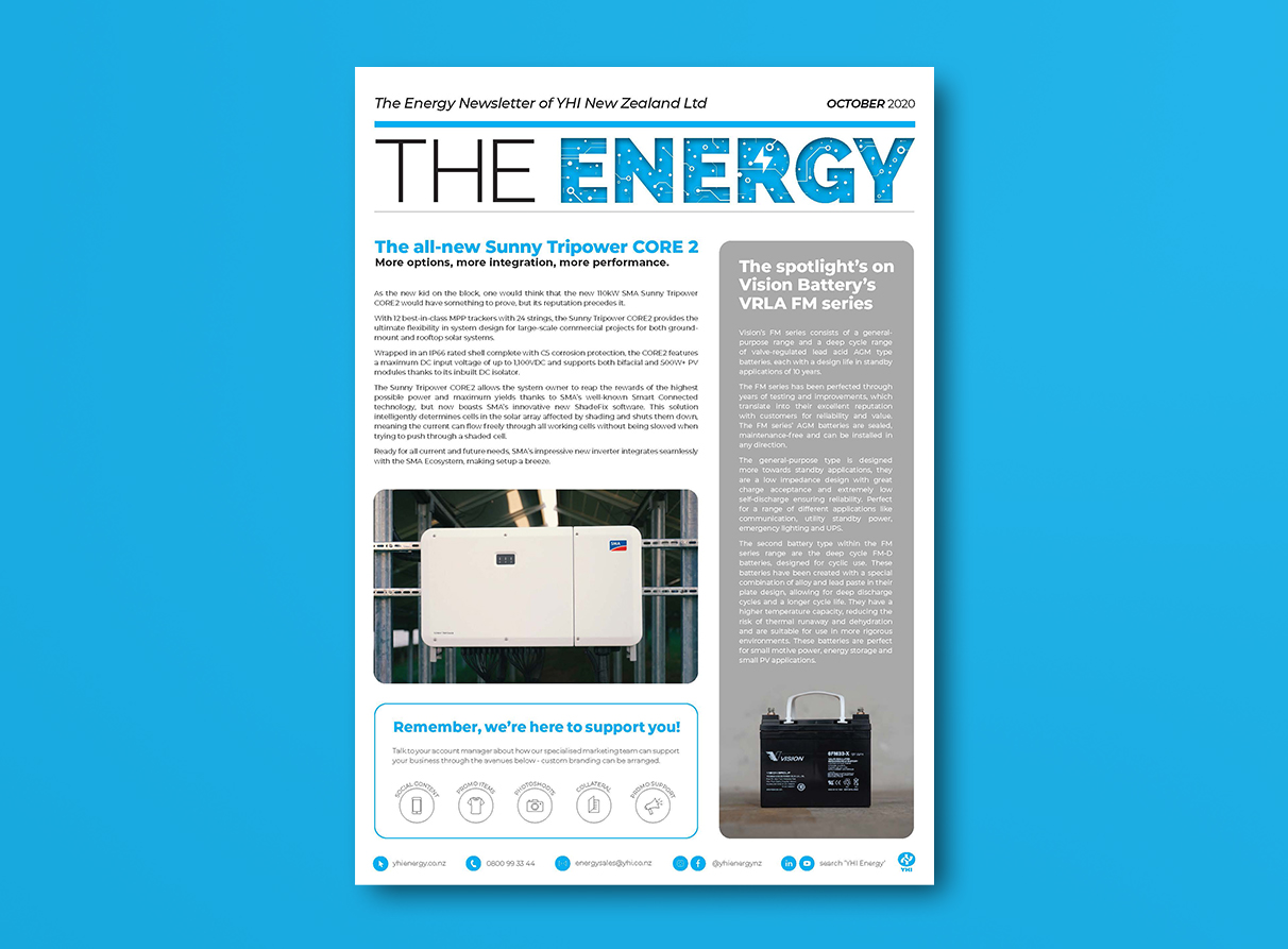 YHI The Energy Newsletter October